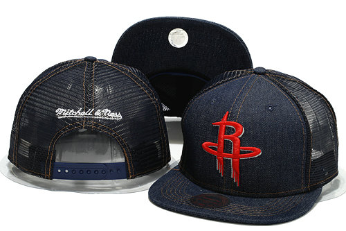 Houston Rockets Mesh Snapback Hat YS 0701